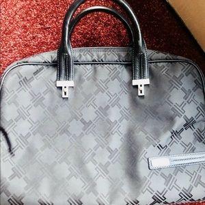 Tumi Laptop Bag. Black.